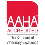 American Animal Hospital Association logo for Cottonwood Veterinary Clinic accreditation